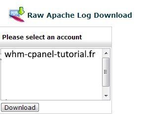 Raw Apache Log Download