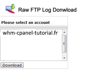 Raw FTP Log Download