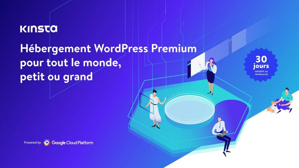 Kinsta.com, l'hébergeur WordPress premium