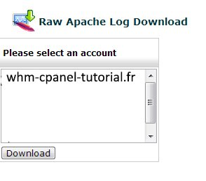Raw Apache Log Download