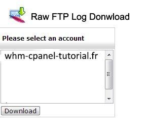 Raw FTP Log Download