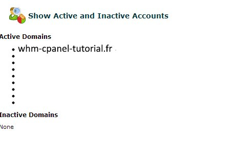 Show Active and Inactive Accounts