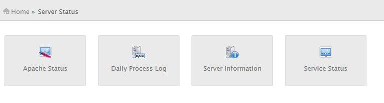 Server Status WHM cPanel