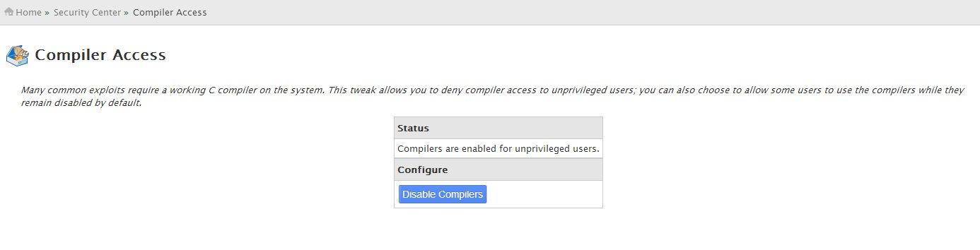 Compiler Access